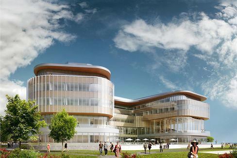 The New Kellogg Building Is Designed to Stimulate Ideas. The View Will Be Pretty Good, too