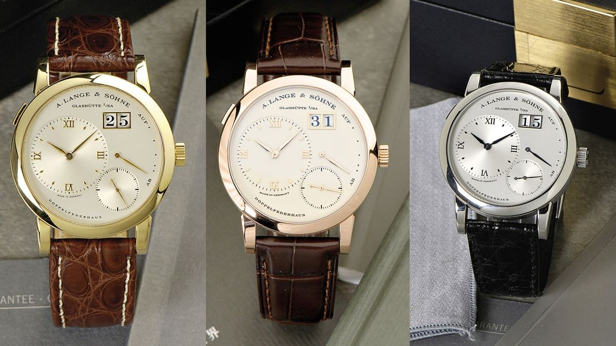 Three of the Best Lange 1 Watches Ever Made Are Up for Sale