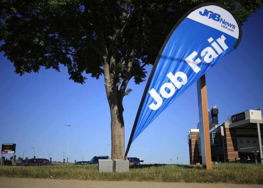 A Job News USA Career Fair Ahead Of Initial Jobless Claims Figures