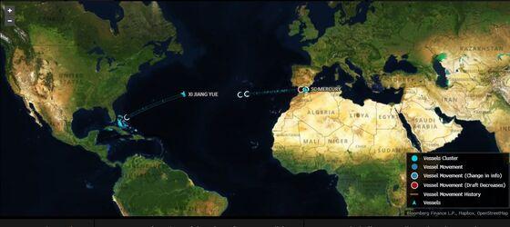 With Suez Canal Shut, a Dozen Ships Sail the Long Way Around
