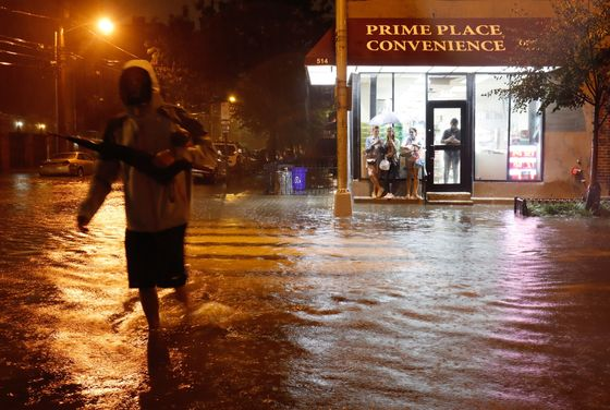 New York Area Swamped by Ida's Rains, Killing at Least Eight