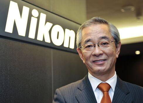 Makoto Kimura, president of Nikon Corp.