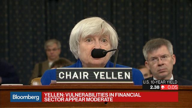 Yellen Says US Economic Growth Disappointingly Slow