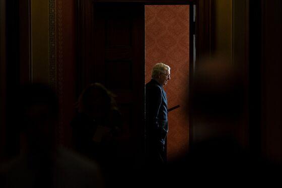 McConnell's Grip Erodes as Trump Tugs GOP Senators to His Orbit