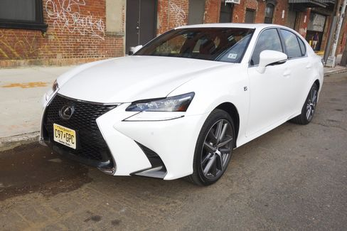 The Lexus GS 350 comes with a front fascia and grille that are different from the regular GS 350 models.