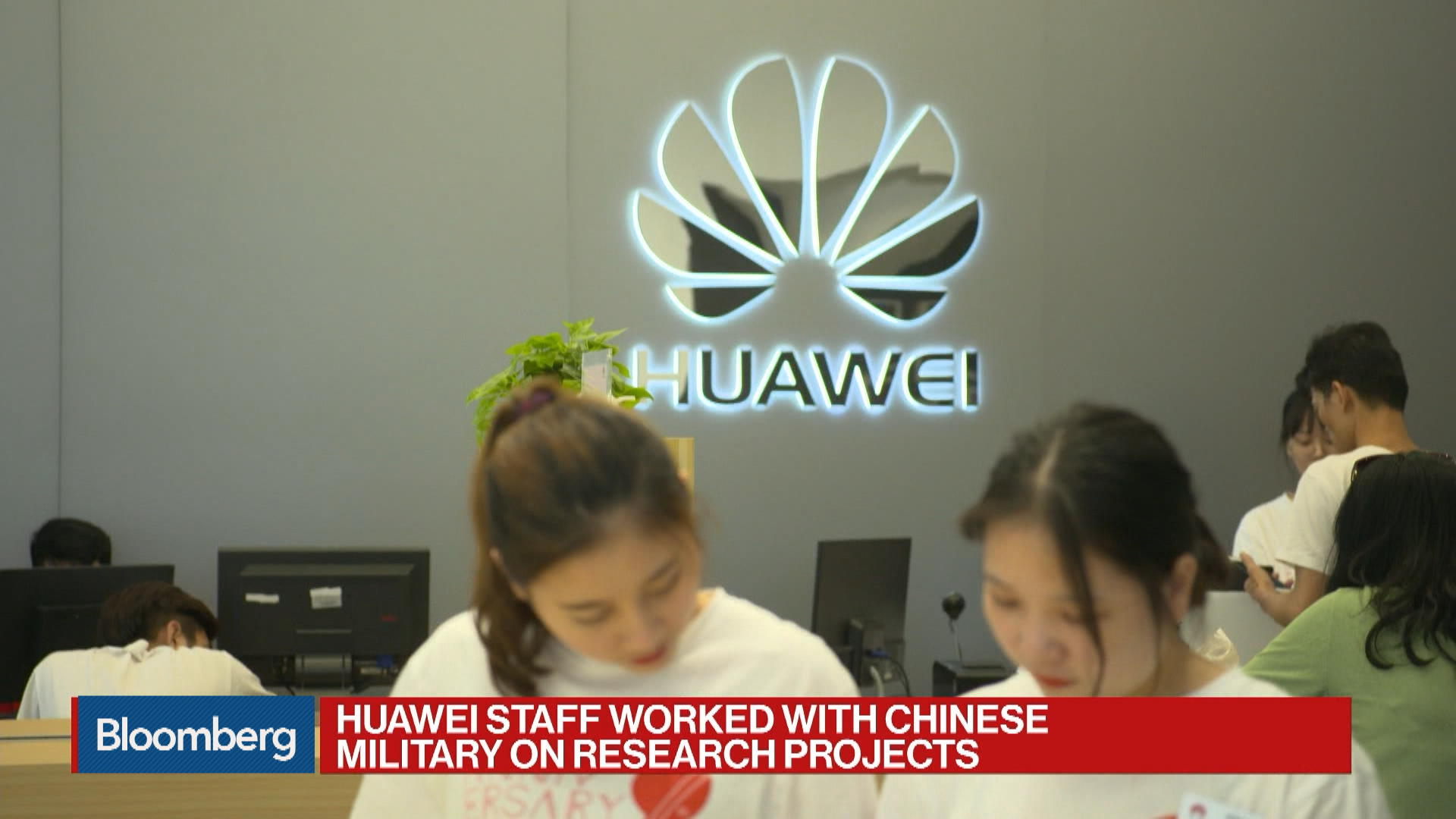Huawei Personnel Worked With China Military on Research