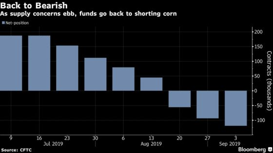Hedge Funds Face Off With Analysts in Corn Ahead of Key Report