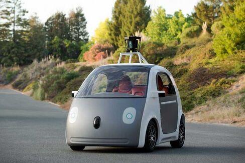 Look Ma, No Hands: Sergey Brin???s GoogleCar Has No Steering Wheel, No Brakes