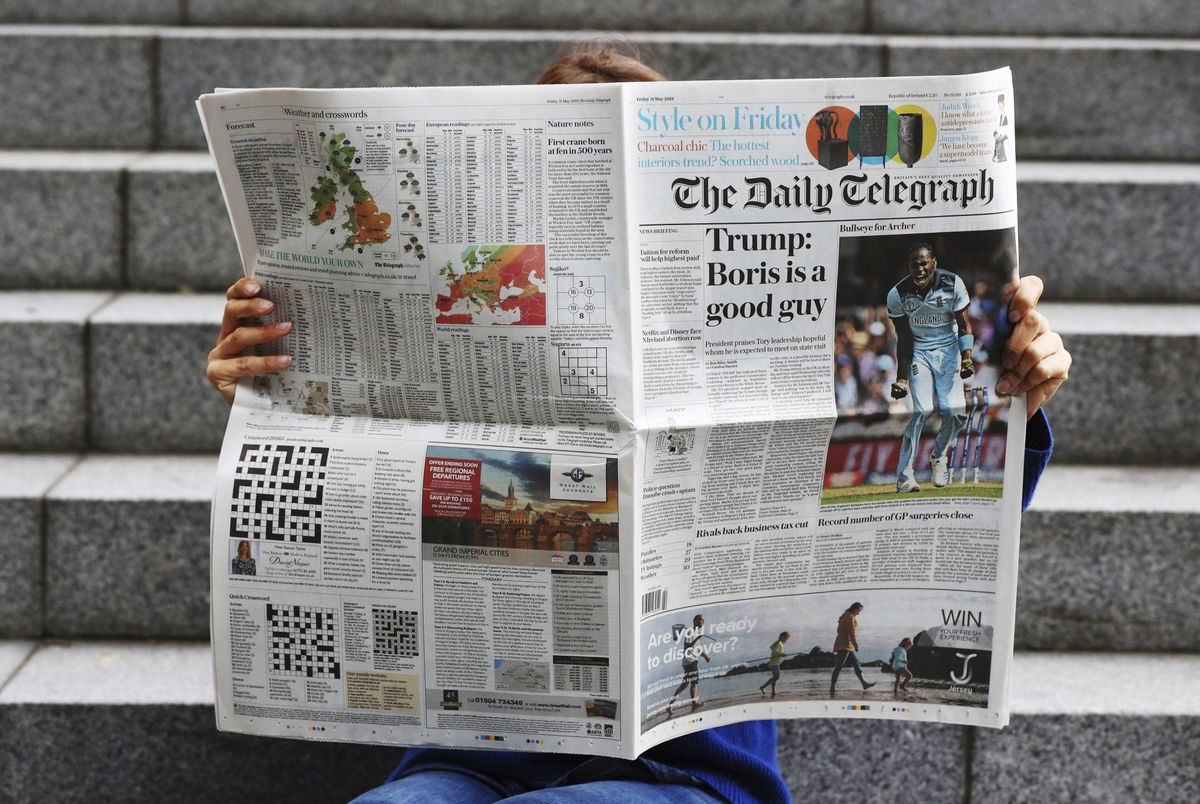 At This Price, The U.K.'s Telegraph Is More Than a Vanity Play