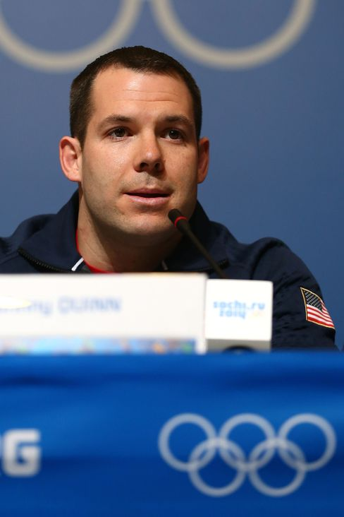 U.S. Bobsledder Johnny Quinn