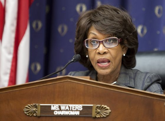 Wall Street and Capitol Hill Fret Over Idea of `Chairman Maxine'