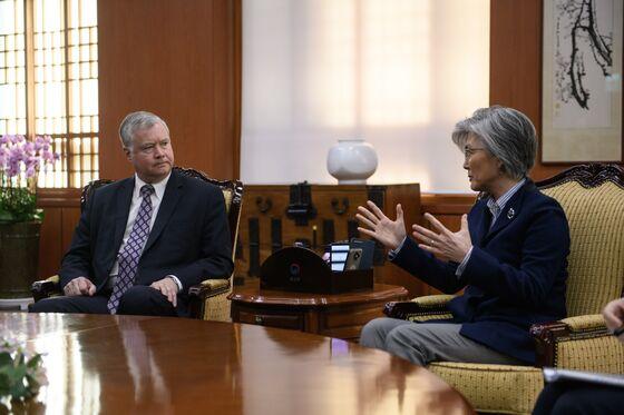 U.S. Says `Some Hard Work' Needed With N. Korea Pre-Summit