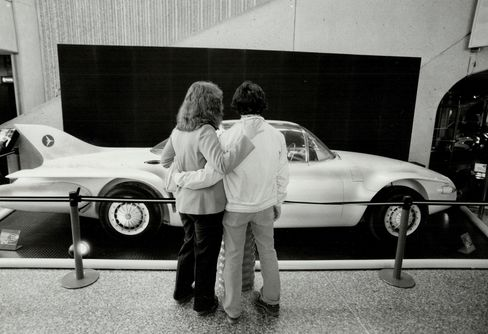 General Motors thought this Firebird 2 would be the car of the future. It didn't quite make it.