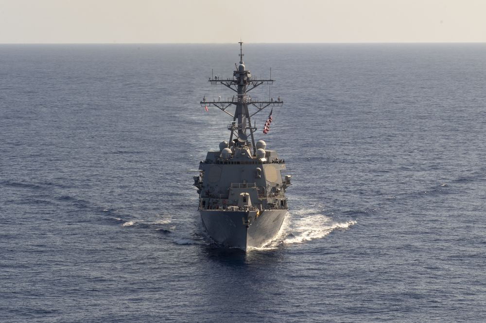 U.S. Ships Pass Through Taiwan Strait as China Tensions Climb
