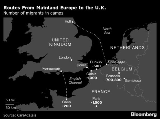 Brexit Britain Is Still the Promised Land for Desperate Migrants