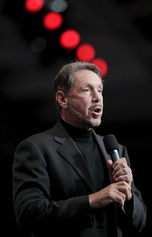 Oracle Corp., CEO Larry Ellison
