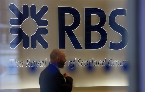 RBS Full-Year Loss Widens on Compensation for Swaps, PPI