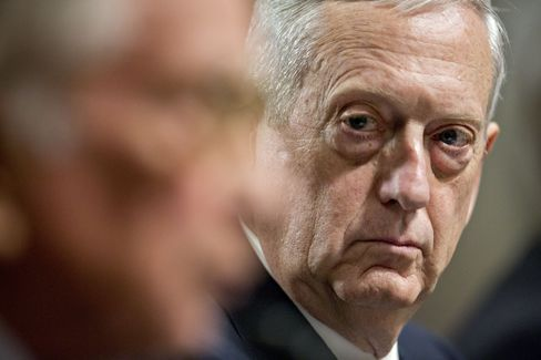 Senate Armed Services Committee Considers James Mattis To Be Defense Secretary