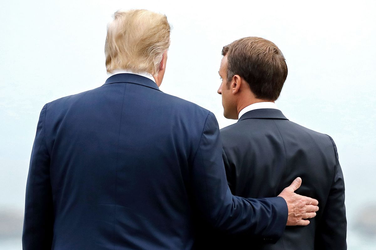 Trump's Warm Handshakes in Biarritz Mask a Hard-Line Approach