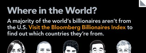 Billionaires: Where in the World?