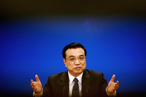 China Is Prepared for Rough Economy Ahead, Li Says