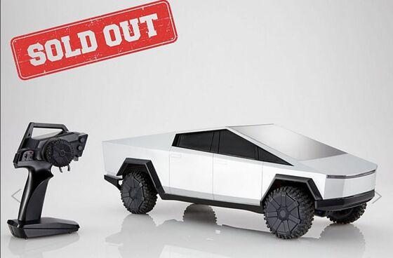 Tesla Tardiness Is Echoed in Mattel's Cybertruck Toy Delay