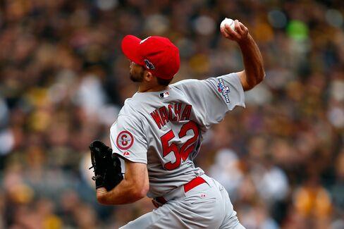 Cardinals Pitcher Michael Wacha