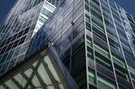 Goldman Sachs headquarters stands in New York, U.S.
