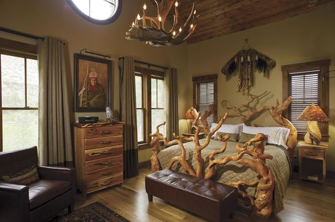 Everything in the buildings was custom-made by Colorado artisans.