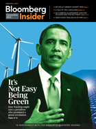 Bloomberg Insider Conventions Magazine Cover, Sept. 4