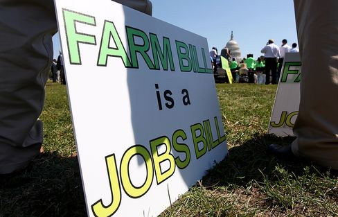Farm Law Fails in U.S. House on Cuts to Food-Stamp Spending