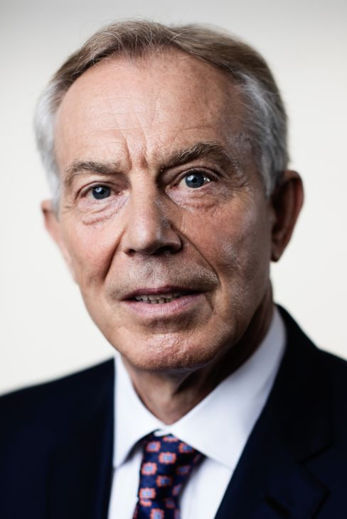 Tony Blair on June 8.