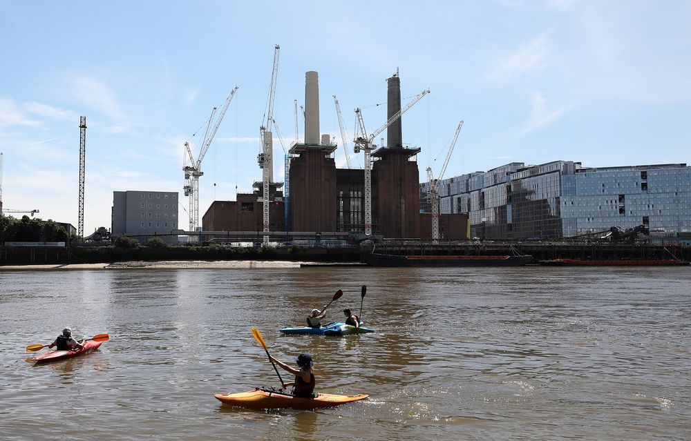 Battersea Power Station Home Sales Recovering After Long Delay