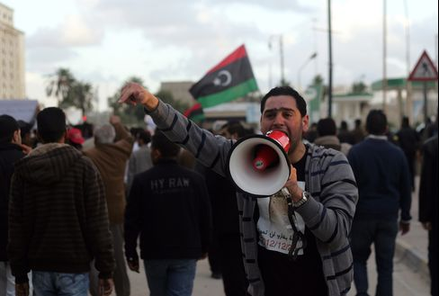 Libya Crackdown Makes Benghazi Ghost Town as Police Fight Gunmen