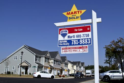 Home Prices in U.S. Cities Probably Cooled After Sales Fell
