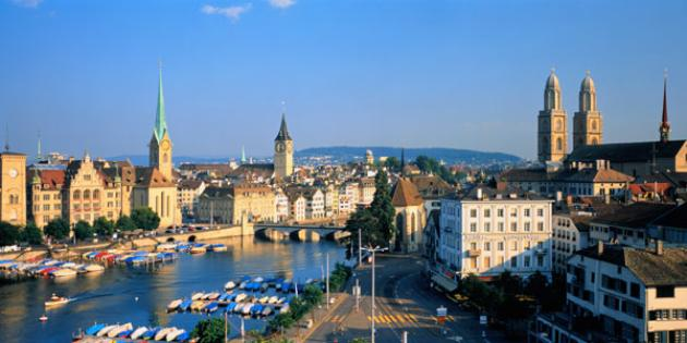 No. 2 Best Quality of Life: Zurich, Switzerland