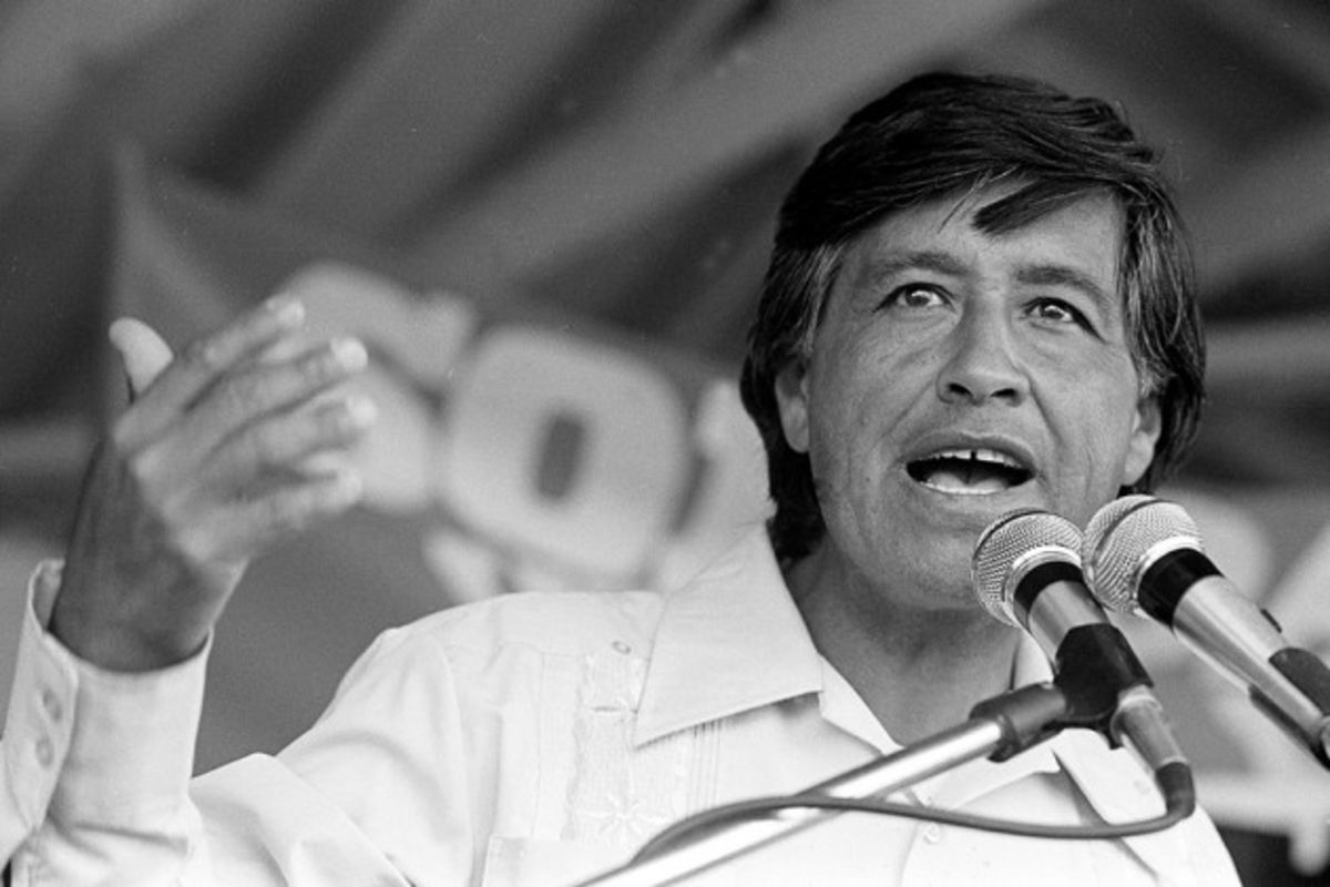 the colorful life of cesar chavez a famous labor leader Cesar chavez endorses lionel wilson for mayor during 1977 election bill crouch photo from omca 1 césar estrada chávez (march 31, 1927 - april 23, 1993) was a labor leader and civil rights activist who was active in oakland early in his activist career.