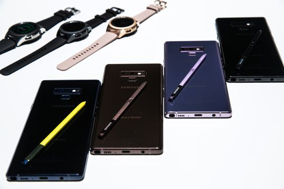 Samsung Unveils Note 9, Upgraded Watch and Home Speaker