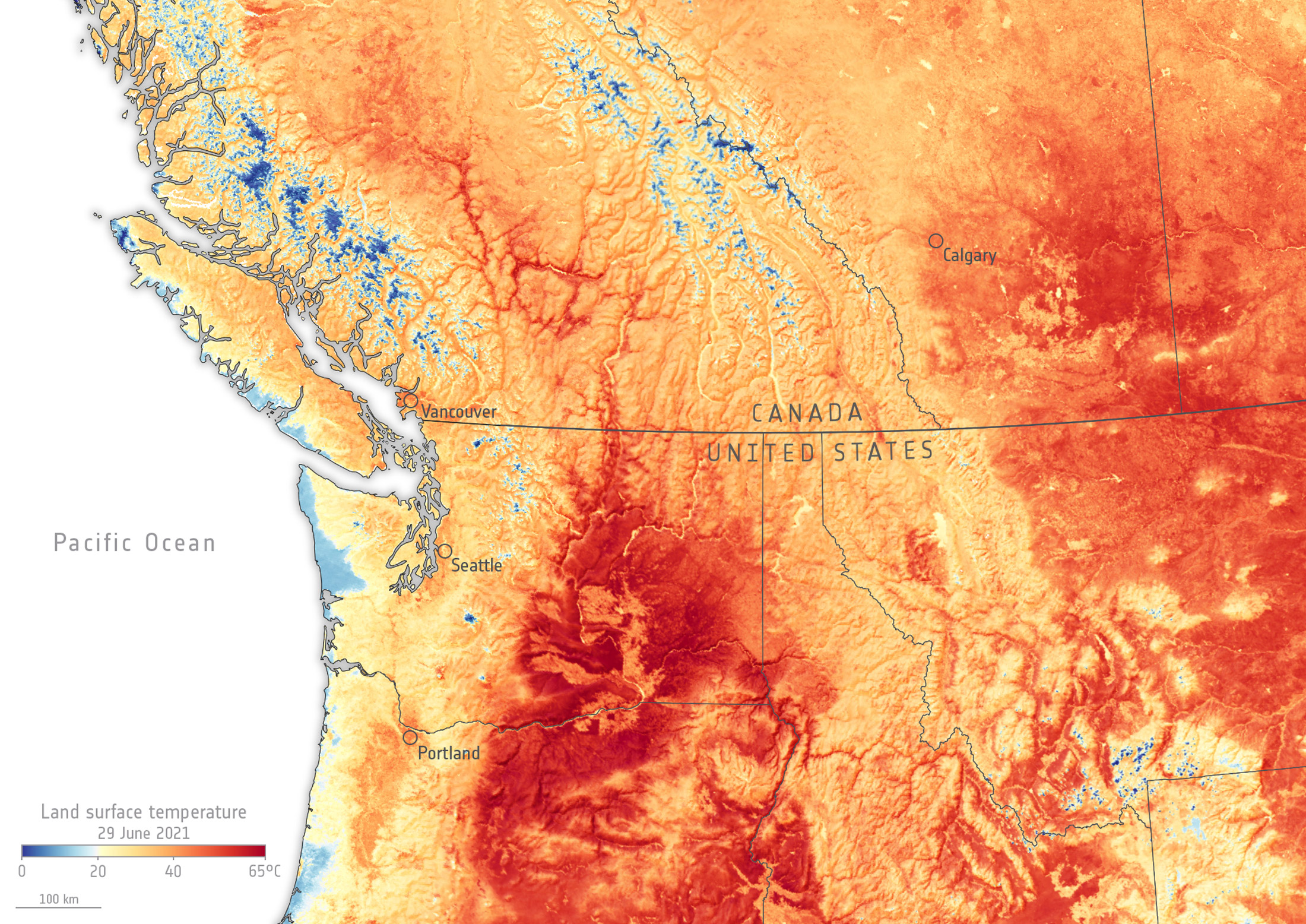 The recent heat wavein the Northwest demonstratesa crucial fact about climate change: It won'tbe a smooth, predictable event.