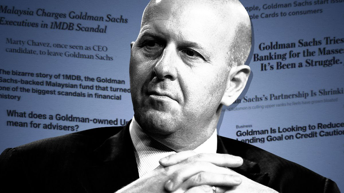 Goldman Sachs's Year of Frantic Upheaval and Same Old Problems