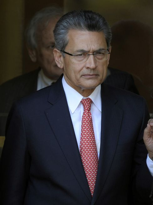 Former Goldman Sachs Group Inc. Director Rajat Gupta