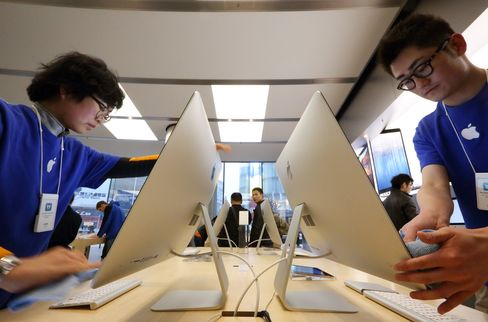 Apple to Double Retail Outlets in China as Pace of Growth Slows