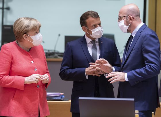 EU Leaders Clash Over Stimulus Package With Markets on Edge