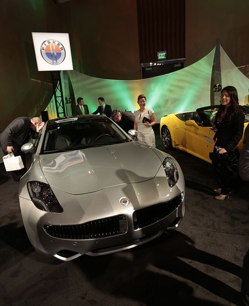 Fisker Billionaire Owner Vows U.S. Drive to Take On Tesla