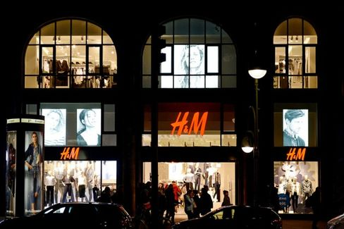 H&M's New Store Blitz Moves Faster Than Its Digital Expansion