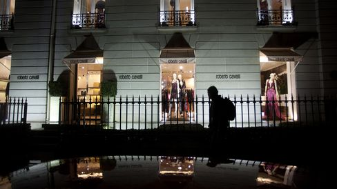 Roberto Cavalli Store in Paris