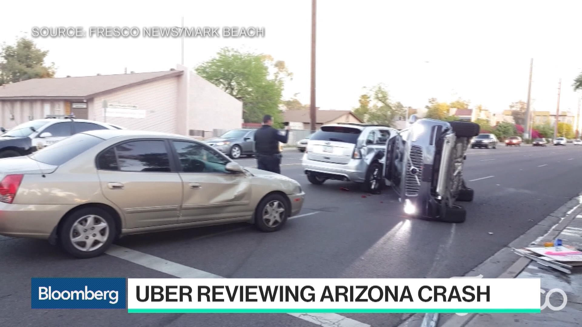 Uber Crash Shows Human Traits in Self-Driving Software - Bloomberg