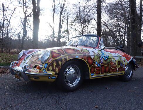 Joplin bought this 1964 Porsche 356 in 1968.