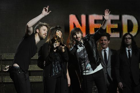 Lady Antebellum Collects 5 Grammys