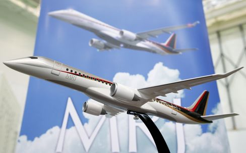 Mitsubishi Said to Delay Delivery of Regional Jet by a Year